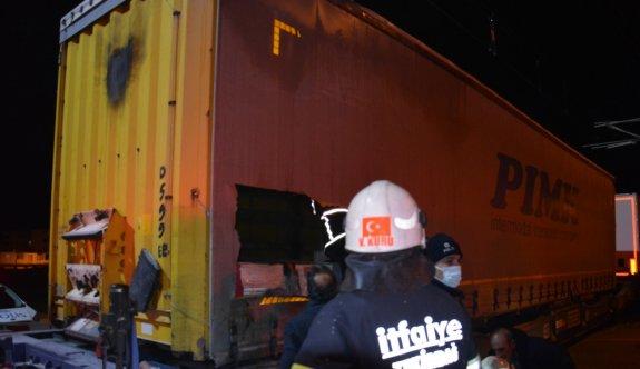 Tekirdağ'da tren istasyonunda elektrik akımına kapılan 2 sığınmacı ağır yaralandı