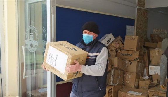 Trakya Üniversitesinde biriktirilen 3 ton 640 kilo kağıt atık geri dönüşüme kazandırıldı
