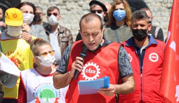 1 Mayıs Emek ve Dayanışma Günü Trakya'da kutlandı