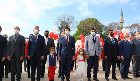 23 Nisan Ulusal Egemenlik ve Çocuk Bayramı Trakya'da törenlerle kutlandı
