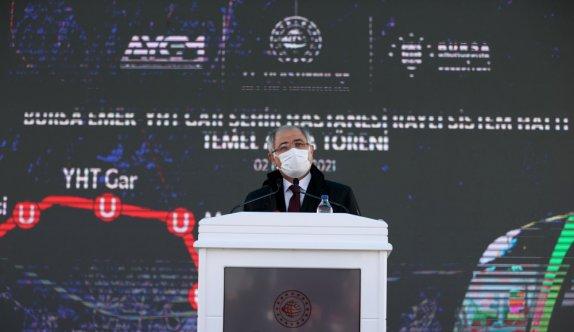Bursa Emek-YHT Gar-Şehir Hastanesi metro hattının temeli atıldı