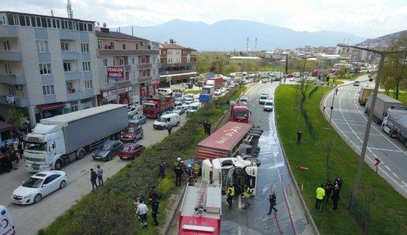 Bursa'da bir kişinin hayatını kaybettiği kazada tır şoförü tutuklandı