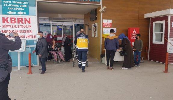 Bursa'da temizlik yaparken elektrik akımına kapılan kadın yaralandı