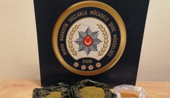 Bursa'da uyuşturucu operasyonlarında yakalanan 29 şüpheli tutuklandı