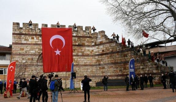Bursa'nın fethinin 695. yıl dönümü törenle kutlandı
