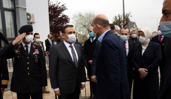 İçişleri Bakanı Süleyman Soylu, Yalova'da güvenlik toplantısına katıldı
