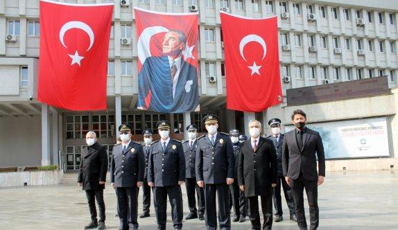 Kocaeli, Sakarya ve Zonguldak'ta Türk Polis Teşkilatının 176. kuruluş yıl dönümü kutlandı