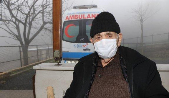 Kocaeli'de 74 yaşındaki kanser hastası belediyenin ulaşım desteğiyle tedavisini sürdürüyor