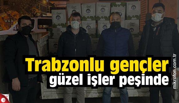 Trabzonlu Gençler Ramazan'da da ihtiyaç sahiplerini unutmadı