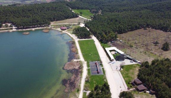 Bilecik'te Pelitözü Göleti
