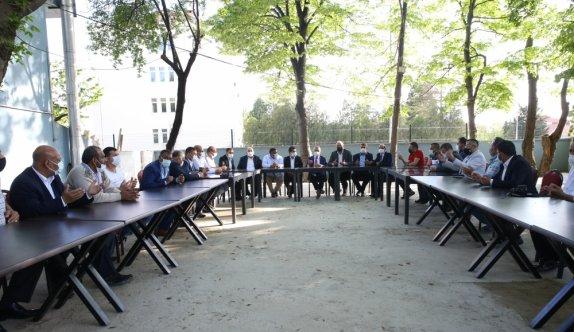 Kırklareli Valisi Bilgin, Romanların sivil toplum kuruluşu temsilcileriyle görüştü