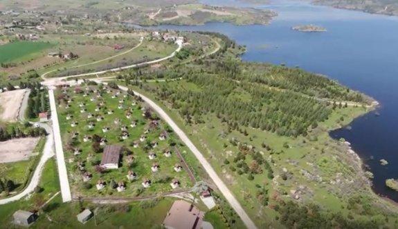 Kırklareli'nde kısıtlamayı ihlal edip piknik yapanlar drone ile tespit ediliyor