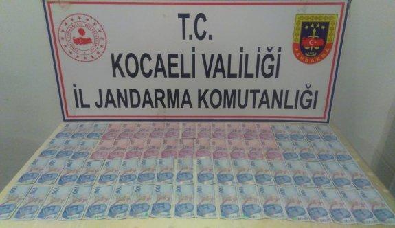 Kocaeli'de piyasaya sahte para sürmeye çalıştığı iddiasıyla yakalanan zanlı tutuklandı