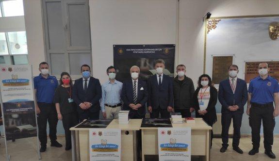 Sakarya ve Bolu'da hükümlü ve tutuklular için kitap bağış kampanyası başlatıldı