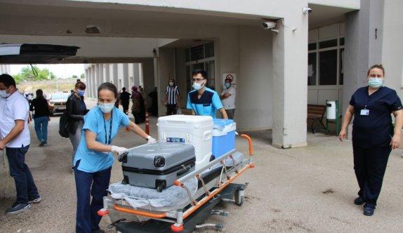 Balıkesir'de beyin ölümü gerçekleşen kadının organları 5 hastaya nakledilecek