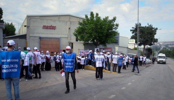 Bursa'daki radyatör fabrikasında, TİS görüşmelerinde anlaşma sağlanamaması üzerine grev başlatıldı