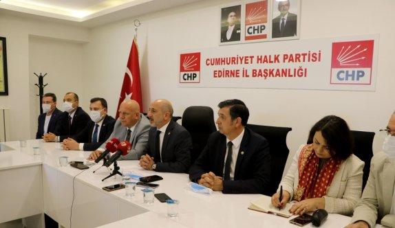CHP Genel Başkan Yardımcısı Öztunç, Edirne'de ziyaretlerde bulundu