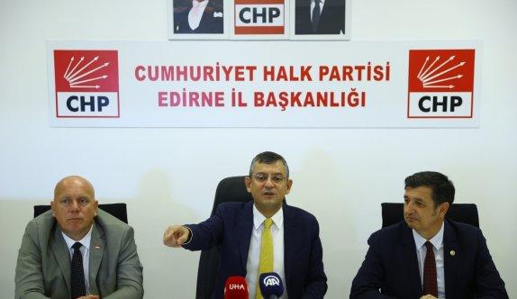 CHP Grup Başkanvekili Özel, gündeme dair açıklamalarda bulundu:
