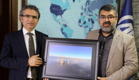 Edirne Cumhuriyet Başsavcısı Karabacak'tan AA'ya veda ziyareti