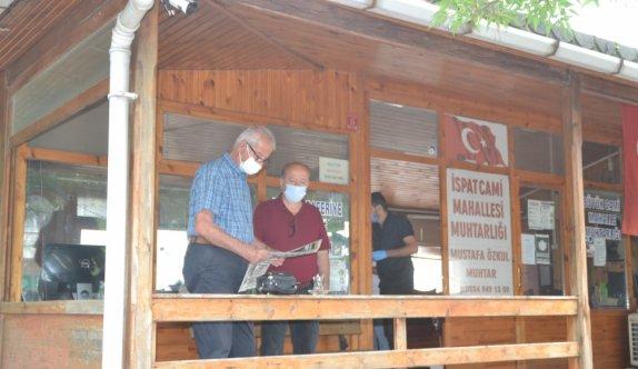 Edirne'de kısıtlamada muhtarlıkların olduğu ofisten hırsızlık yapan zanlı güvenlik kameralarınca görüntülendi