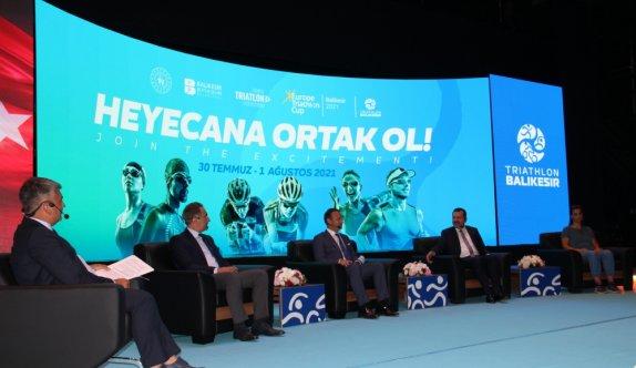 ETU Avrupa Triatlon Kupası yarışlarına Balıkesir ev sahipliği yapacak