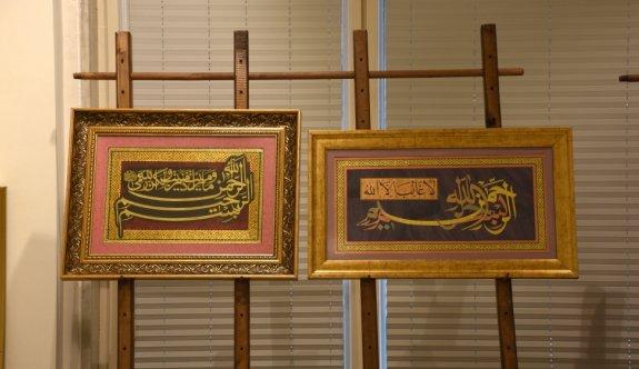 Hattat Mustafa Antika 8'inci kişisel sergisini açtı