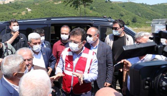 İBB Başkanı İmamoğlu, Melen Barajı'nı inceledi: