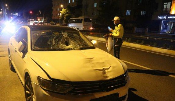 Kırklareli'nde otomobilin çarptığı yaya hayatını kaybetti