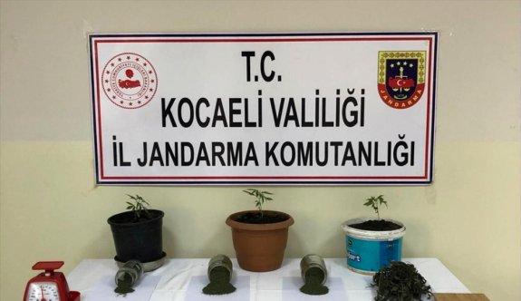Kocaeli'de uyuşturucu operasyonu: 4 gözaltı