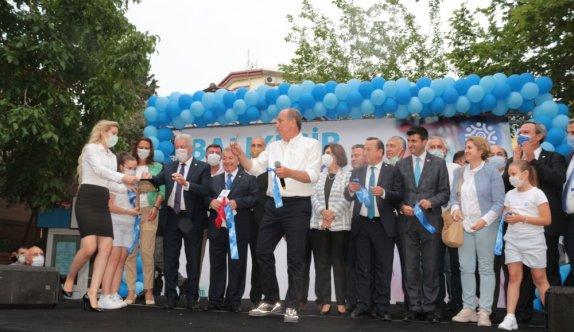 Memleket Partisi Genel Başkanı Muharrem İnce, partisinin Balıkesir İl Başkanlığını açtı
