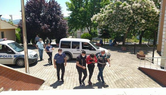 Sakarya'da oyun salonlarından hırsızlık yaptığı öne sürülen şüpheli tutuklandı