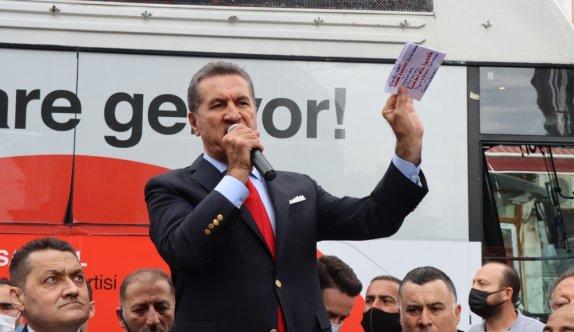 TDP Genel Başkanı Mustafa Sarıgül, Kırklareli'nde konuştu: