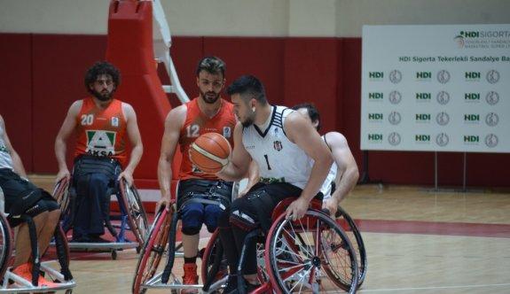 Tekerlekli Sandalye Basketbol Süper Ligi play-off çeyrek final müsabakaları Yalova'da başladı
