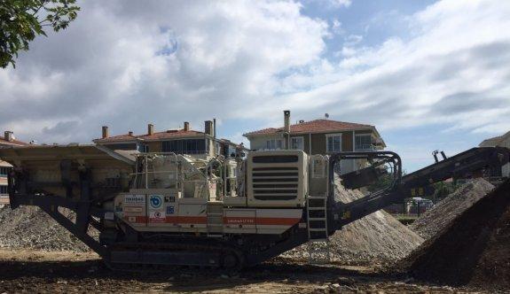 Tekirdağ'da çalınan belediyeye ait iş makinesi İstanbul'da bulundu