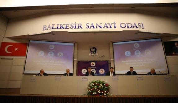 TOBB Başkanı Hisarcıklıoğlu, Balıkesir'de iş insanlarıyla bir araya geldi: