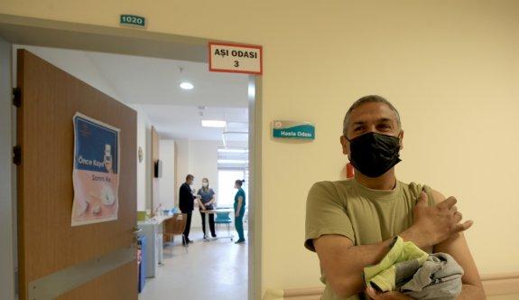 Trakya'da SGK'ya kayıtlı tüm çalışanların aşılanması başladı