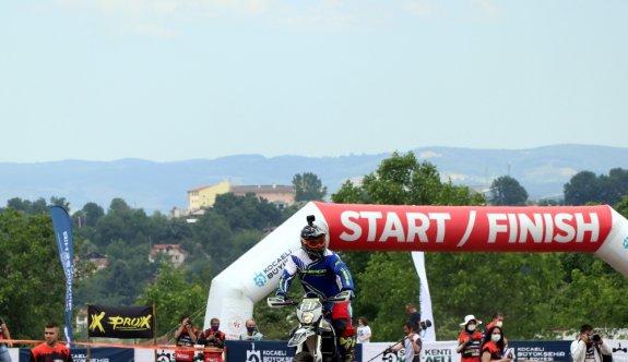 Türkiye Süper Enduro Şampiyonası yarışları Kocaeli'de başladı