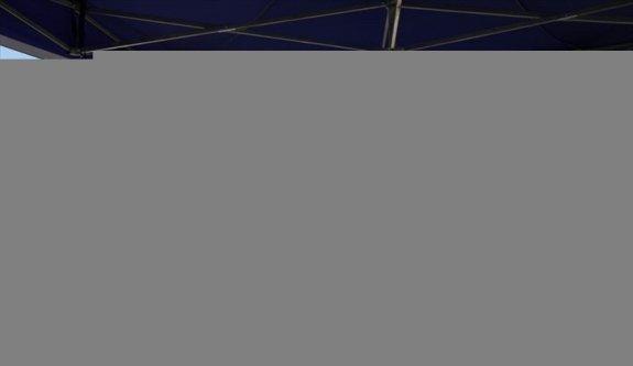 Çanakkale'de İskele Meydanı'nda Kovid-19 aşı uygulanmasına başlandı