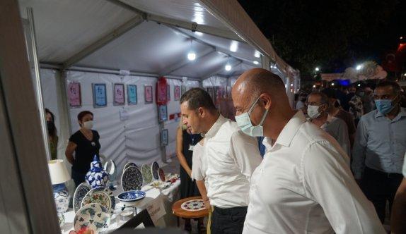 31. Burhaniye Ören Kültür ve Sanat Festivali başladı