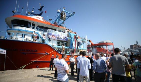 Balıkesirli balıkçılar yeni av sezonu için hazırlıklarını tamamladı