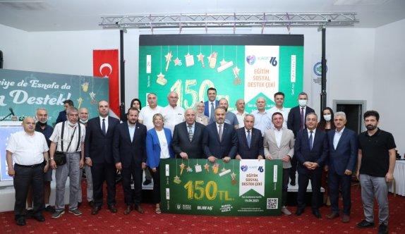 Bursa Büyükşehir Belediyesi ihtiyaç sahibi 20 bin aileye 150'şer lira kırtasiye yardımı yapılacak