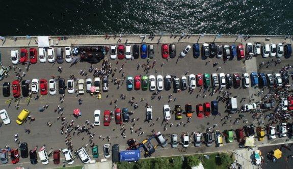 Modifiyeli araç tutkunları Tekirdağ'da buluştu