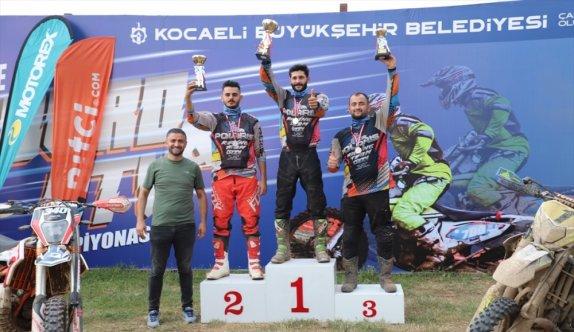 Türkiye Enduro ve ATV Şampiyonası'nın ikinci ayağı, Kocaeli'de yapıldı