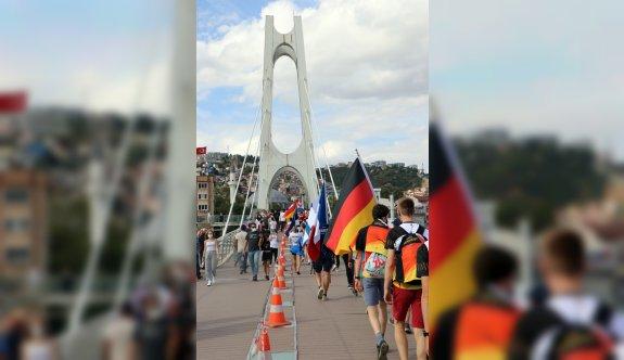 2021 Dünya Gençler Oryantiring Şampiyonası'nın açılış töreni Kocaeli'de yapıldı