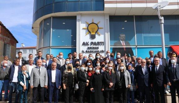 Adalet Bakanı Abdulhamit Gül, AK Parti Edirne İl Başkanlığında konuştu: