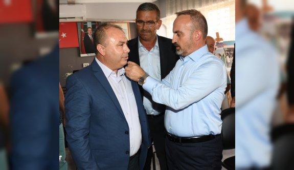AK Parti Grup Başkanvekili Turan, Çanakkale'de üye katılım töreninde konuştu: