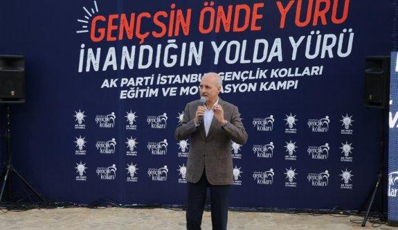 AK Parti'li Kurtulmuş, Edirne'de Gençlik Kolları Eğitim ve Motivasyon Kampı'nı ziyaret etti: