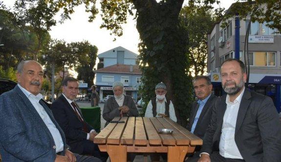 AK Parti'li Zenbilci, Balıkesir'de ziyaretler yaptı