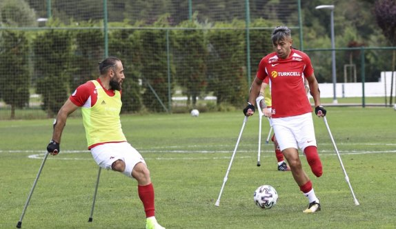 Ampute Milli Futbol Takımı hazırlıklarını sürdürüyor