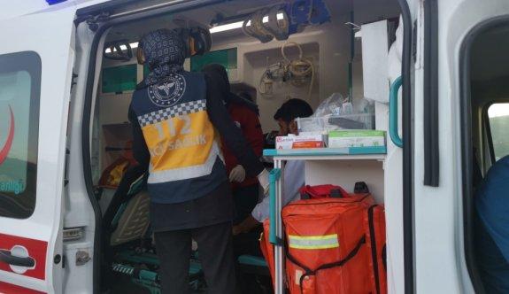Anadolu Otoyolu'nda trafik kazası ulaşımı aksattı
